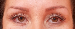 Example of classic lash extensions